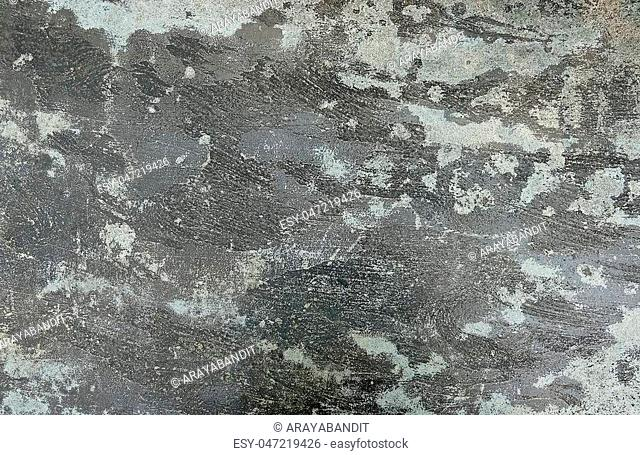 Background Pattern, Gray Rough Concrete Floor Texture or Cement Road with Copy Space for Text Decorated