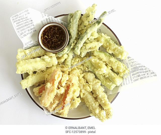 vegetable tempura mix