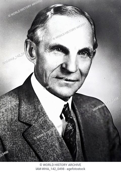 Henry Ford (July 30, 1863 - April 7, 1947) was an American captain of industry and a business magnate, the founder of the Ford Motor Company