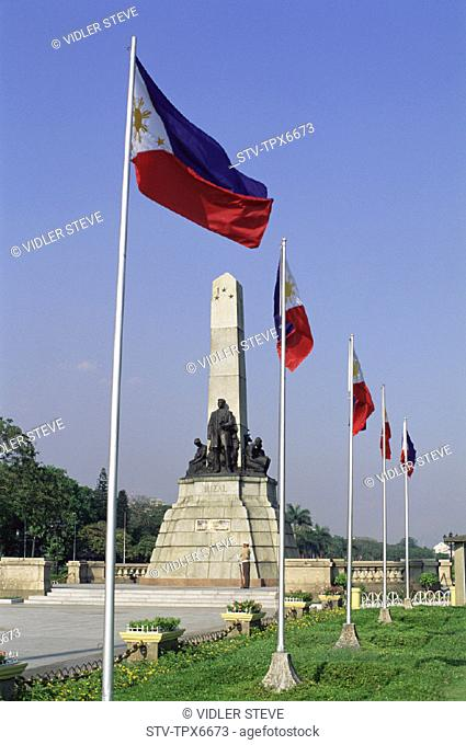 Asia, Holiday, Landmark, Manila, Memorial, Monument, Philippines, Rizal, Statue, Tourism, Travel, Vacation