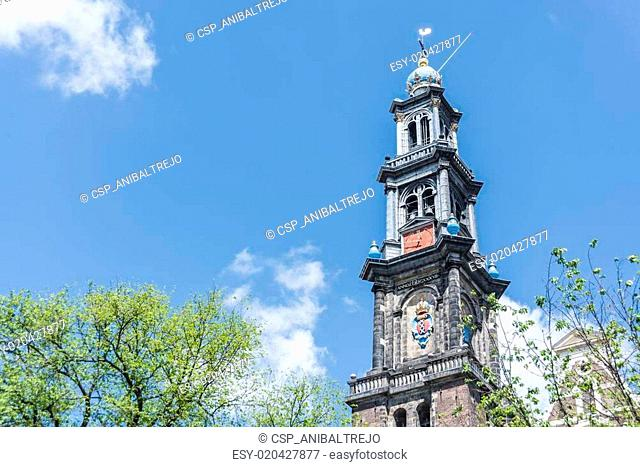 Western church in Amsterdam, Netherlands