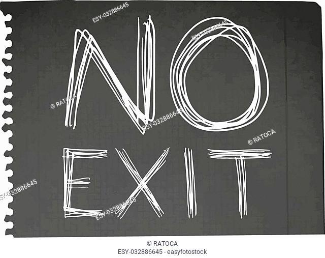 Creative design of no exit