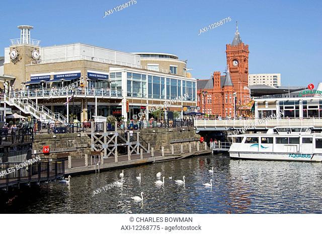 Pierhead building; Cardiff, Wales