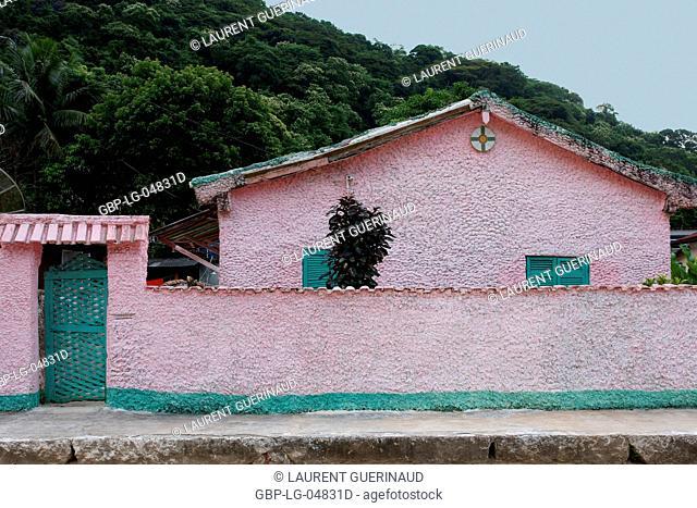 House, Facade, Ilha Grande, Rio de Janeiro, Brazil