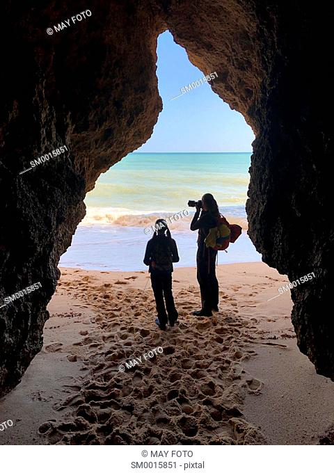 Three Brothers beach, Alvor, Lagos, Algarve, Portugal, Europe