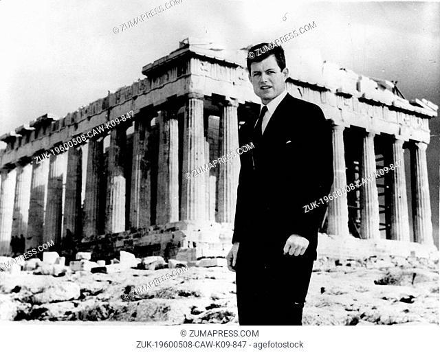 Feb. 21, 1962 - Athens, Greece - Senator EDWARD KENNEDY (1932-2009) was the fourth-longest-serving senator in United States history