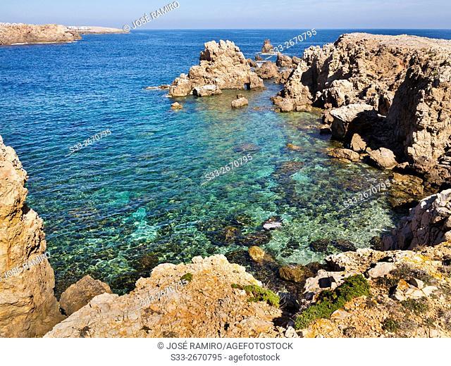 Punta d'en Siulet. Menorca. Islas Baleares. Spain. Europe