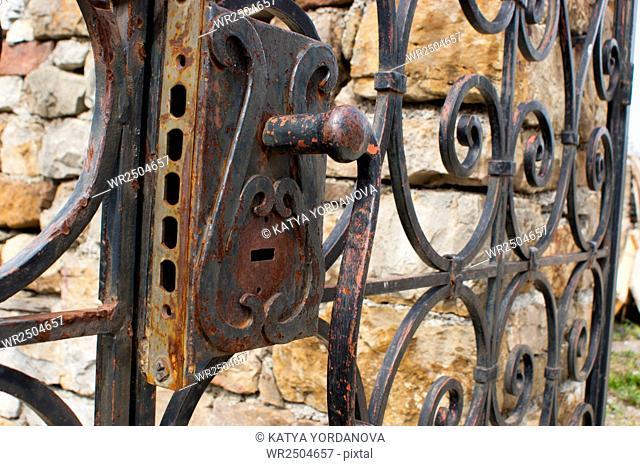 Old door handle