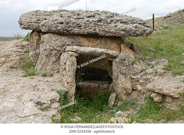 Megalithic Park of Gorafe, one of the largest concentrations of dolmens at Europe. Neolithic, Bronze and Iron Age, from 6000 to 1000 years BC