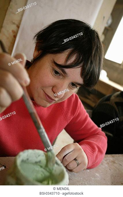 Photo essay at Cognacq-Jay home for mentally disabled adults in Reims, France