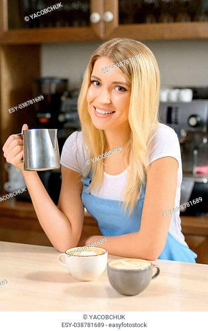 Busy waitress carrying Stock Photos and Images   age fotostock