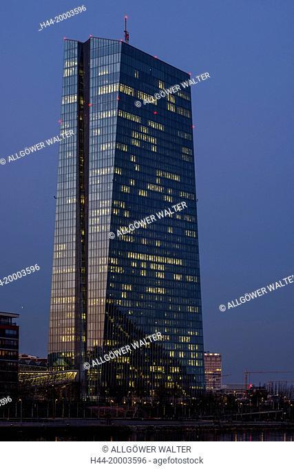 European Central Bank, ECB, Frankfurt on Main