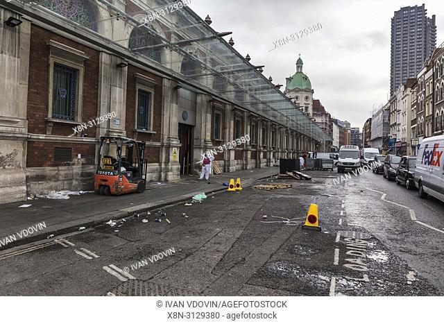 Smithfield Market, London, England, UK