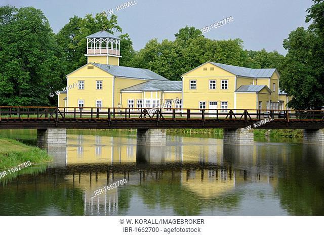 Spa hotel next to Bishop's Castle, Eagle Castle, Kuressaare, Saaremaa Island, Estonia, Baltic States, Northern Europe