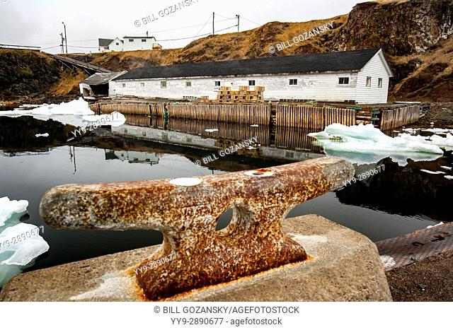 Fishing Stage and docks in Crow Head, Twillingate, Newfoundland, Canada
