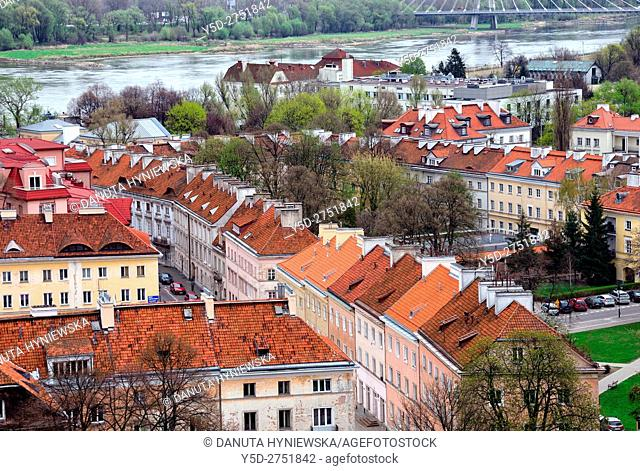 Mariensztat - smallest district of Warsaw located between the Vistula river and the historical Old Town, Mariensztat was the first Warsaw housing estate built...
