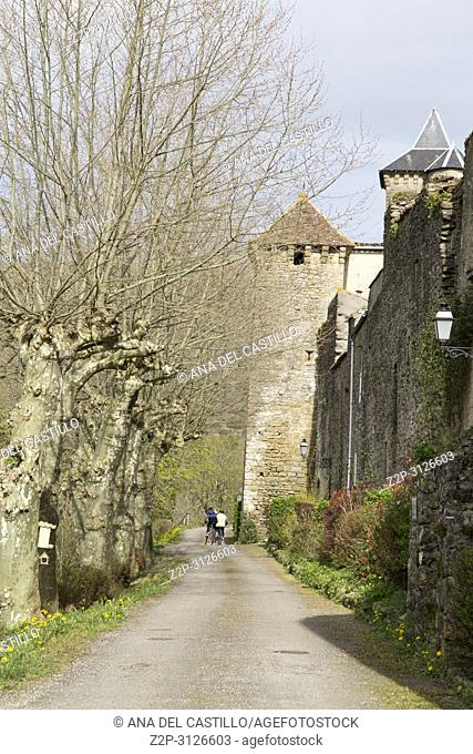 Medieval bastide of Camon South of France