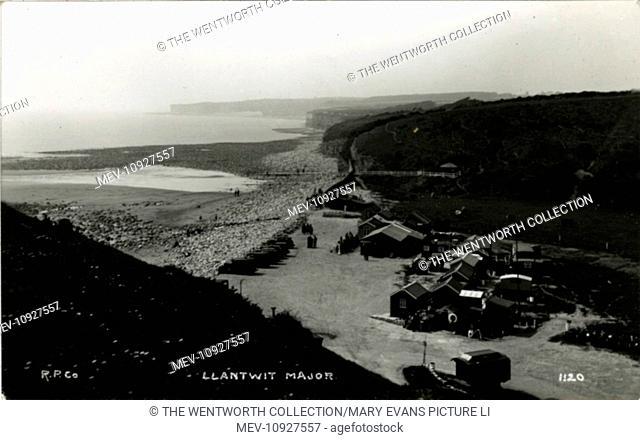 The Beach, Llantwit Major, near Rhoose, Glamorgan, Wales