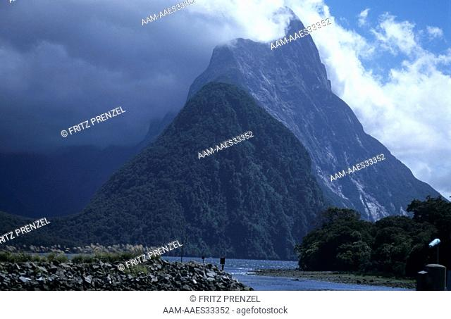 Mitre Peak, Milford Sound South Island New Zealand
