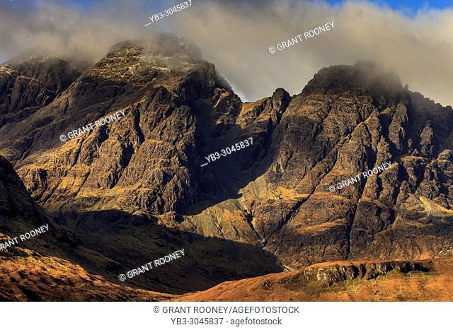 Bla Bheinn (Blaven), The Cuillin Mountain Range, Isle Of Skye, Scotland