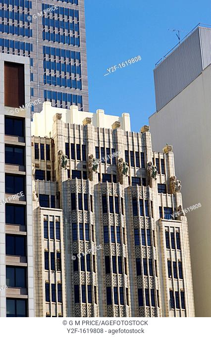 close up view of buildings on Macquarie Street, Sydney