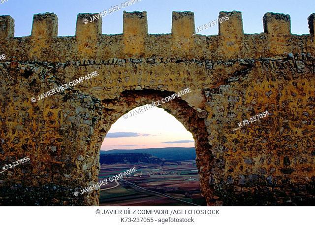 Castle, Califal fortress (10th century). Gormaz. Soria province. Spain