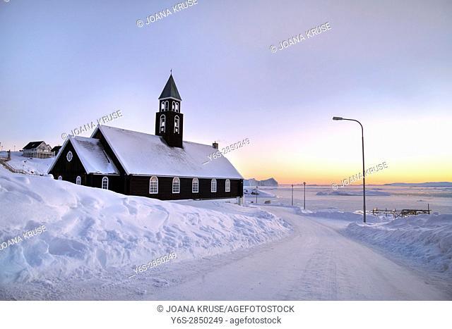 Zion Church of Ilulissat, Greenland