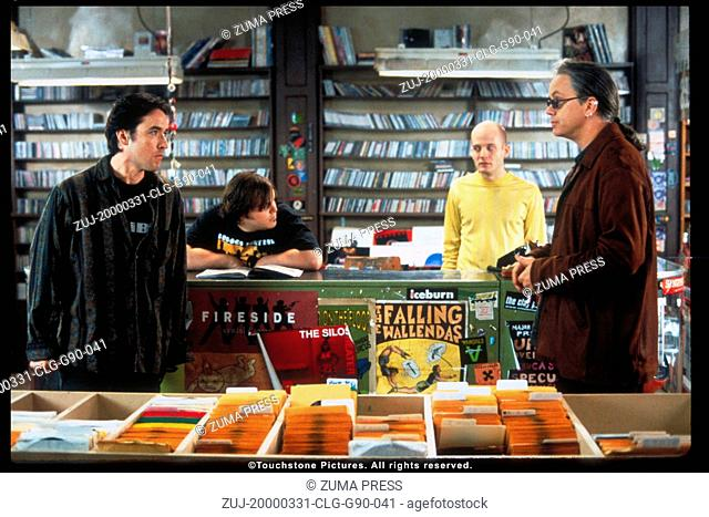 Mar 31, 2000; Los Angeles, CA, USA; (L-R): Actor JOHN CUSACK plays Rob Gordon a record store owner who must come to terms with growing up and relationships in...