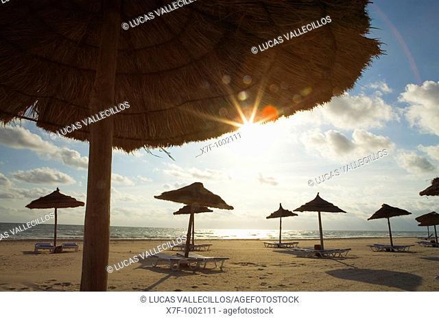 Tunisia Djerba  Sidi Mahrès beach