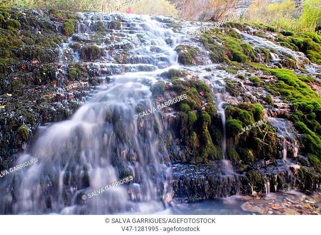 source of the river Pitarque. Teruel province, Aragon, Spain