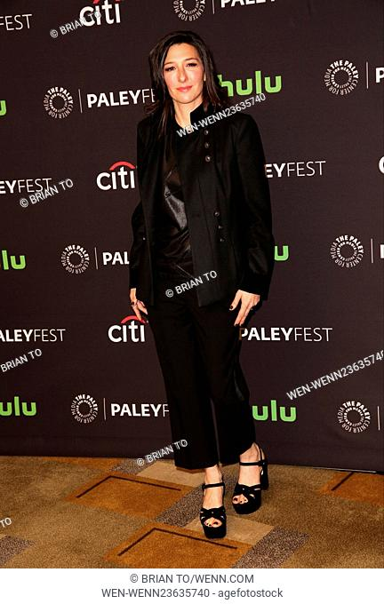 Celebrities attend 33rd annual PaleyFest Los Angeles 'Supergirl' at The Dolby Theater. Featuring: Ali Adler Where: Los Angeles, California