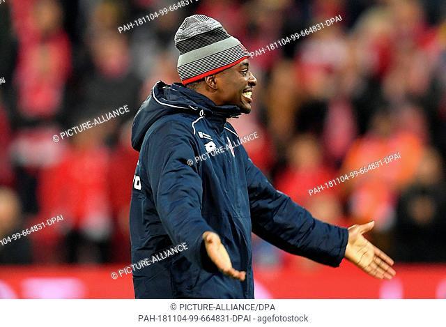 04 November 2018, Rhineland-Palatinate, Mainz: Soccer: Bundesliga, FSV Mainz 05 - Werder Bremen, 10th matchday Opel Arena Mainz