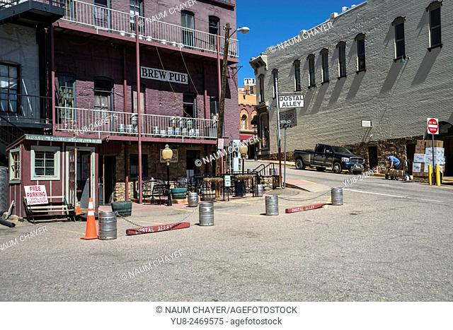 Brew pub, Central City, Colorado, USA, North America, United States