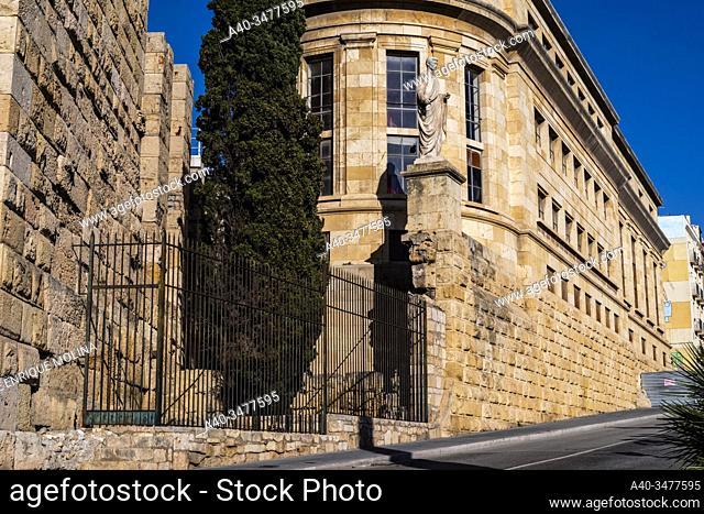 Historic center of Tarragona, Tarraco, Catalonia, Spain, UNESCO World Heritage Site