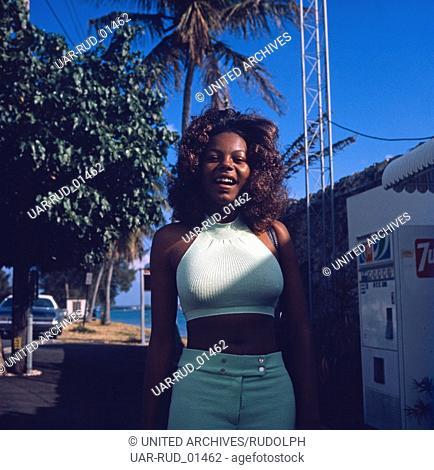 Eine Reise nach Miami, Florida, USA 1980er Jahre. A trip to Miami, Florida, USA 1980s