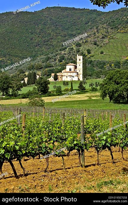 Abtei von Sant Antimo - Toskana