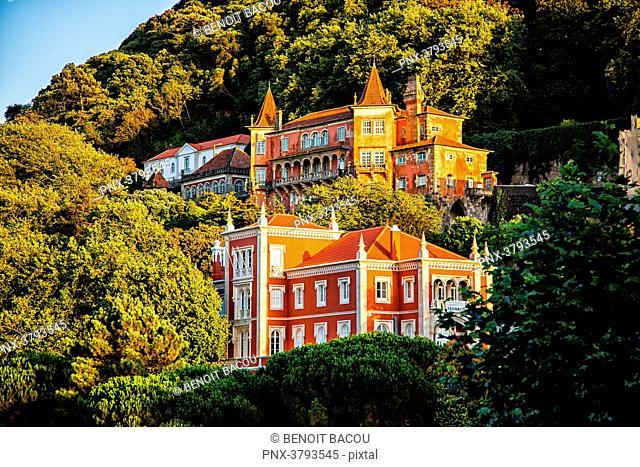 Museum-Palace Palacio Valencas, Sintra, Lisbon area, Portugal