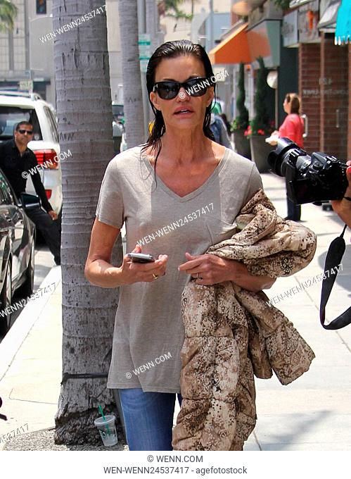 Janice Dickinson gets her hair done in Beverly Hills Featuring: Janice Dickinson Where: Beverly Hills, California, United States When: 06 Jun 2016 Credit: WENN