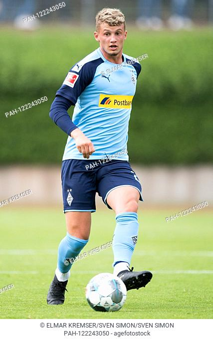 Michael CUISANCE (MG) with Ball, individual action with ball, action, full figure, upright, football, friendly match, 1.FC Borussia Monchengladbach (FCMG) -...