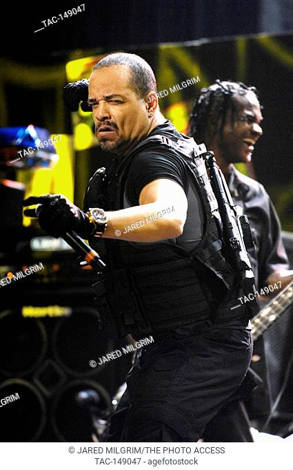 Ice T and Body Count perform at the Vans Warped Tour 15th Anniversary Celebration at Club Nokia on September 6, 2009 in Los Angeles