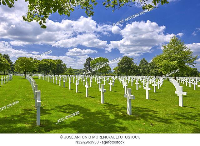 St. James American cemetery, St. James, Manche, Normandy, France
