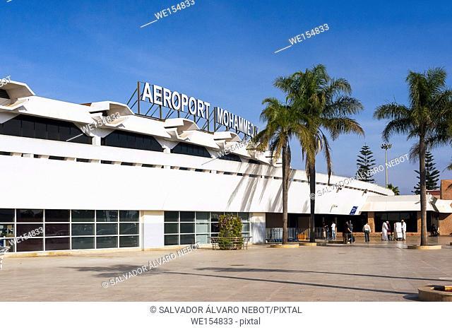 Mohammed V International Airport, Nouasseur, Casablanca, Morocco, Africa