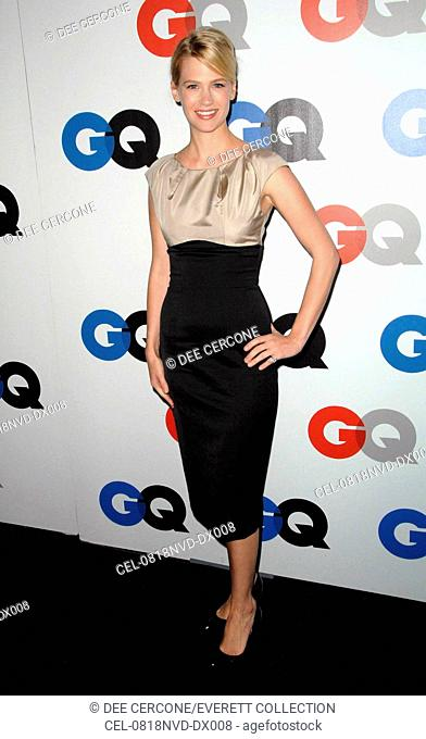 January Jones at arrivals for The 13th Annual GQ 'MEN OF THE YEAR' Party, Chateau Marmont Hotel, Los Angeles, CA, November 18, 2008