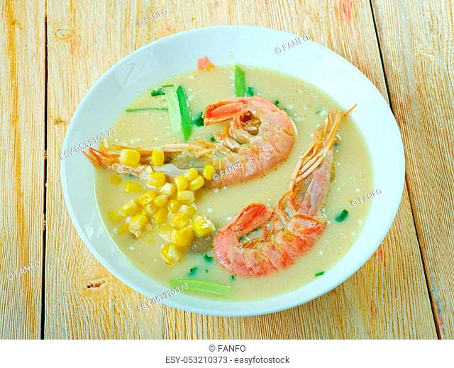 Chupe - South Americanstew seafood/