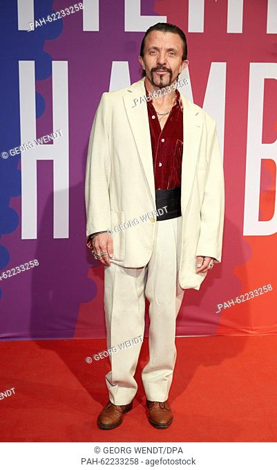Swiss actor David Bennent poses on the red carpet during the opening of the Hamburg Film Festival in Hamburg, Germany, 01 October 2015
