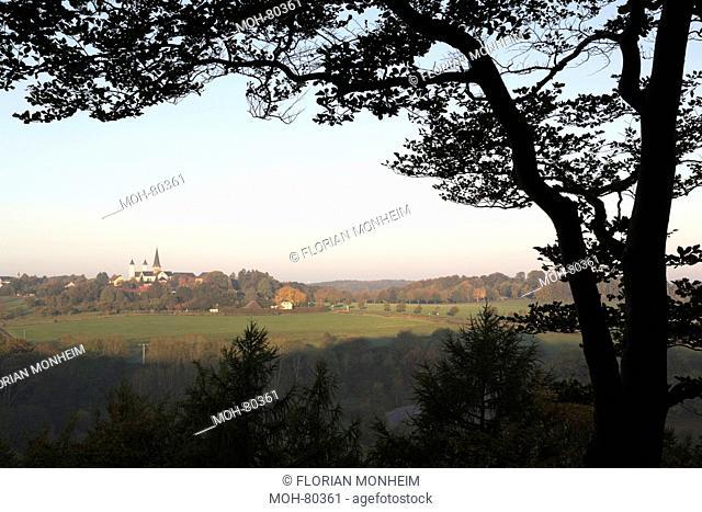 Steinfeld, Kloster in der Landschaft