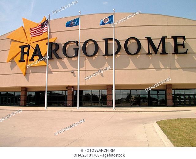 Fargo, ND, North Dakota, North Dakota University, FargoDome
