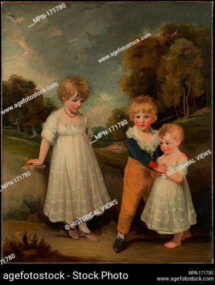 The Sackville Children. Artist: John Hoppner (British, London 1758-1810 London); Date: 1796; Medium: Oil on canvas; Dimensions: 60 x 49 in. (152