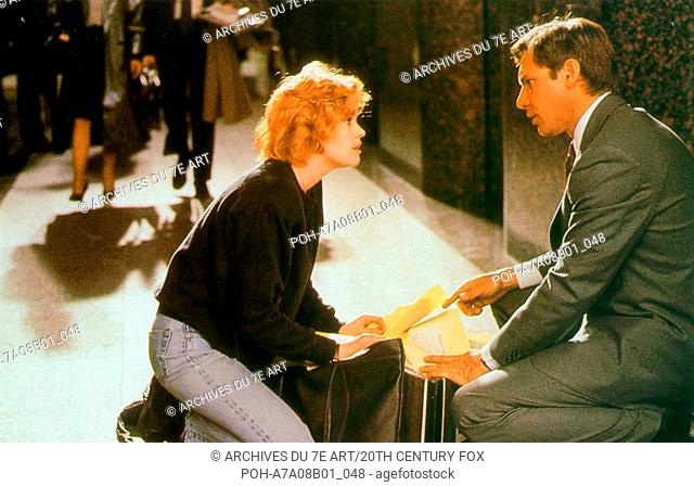 Working Girl  Year: 1988 Melanie Griffith, Harrison Ford  Director :Mike Nichols. It is forbidden to reproduce the photograph out of context of the promotion of...