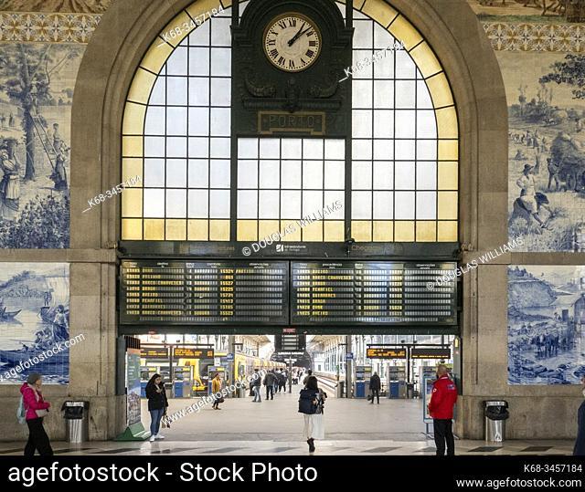 Porto, Portugal, Sao Bento train station